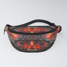 Peeking Out Of The Fire Fanny Pack