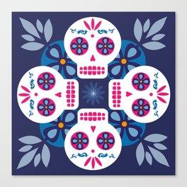 Talavera Blue Canvas Print