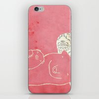 pig iPhone & iPod Skins featuring Pig by yael frankel