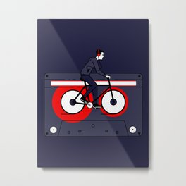 Welcome to Your Tape Metal Print