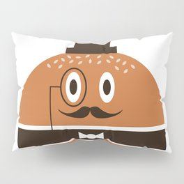 Monsieur Burger Pillow Sham