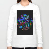 party Long Sleeve T-shirts featuring Party! by Judy Kaufmann