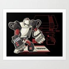 NES Man Art Print
