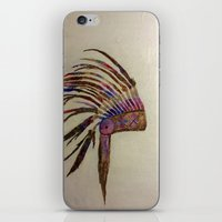 native american iPhone & iPod Skins featuring Native  by Emily Bingham