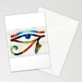 Eye of Horus - Art By Sharon Cummings Stationery Cards