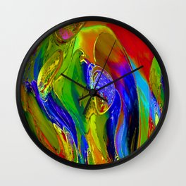 Luna Garden Wall Clock