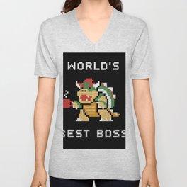 World's Best Boss Unisex V-Neck