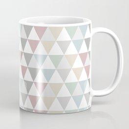 Geometric Pattern Wanderlust Pastel Coffee Mug