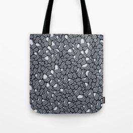Organic Extrusion Black & White 1 Tote Bag