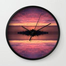 Endless Sunsets Wall Clock