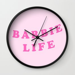 Sassy Life   Text Aesthetic Graphic Quote Style Tee T-Shirt Wall Clock