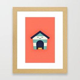 Doghouse Framed Art Print