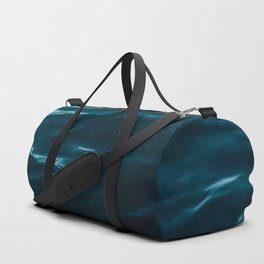 Minimalist blue water surface texture - oceanscape Duffle Bag