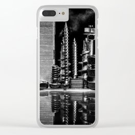 Steel City Clear iPhone Case
