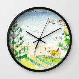 Rainbow Bay, Qld. Australia Wall Clock