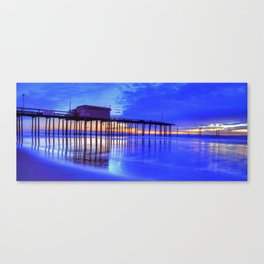OC Pier After The Storm Canvas Print