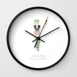 Fashion Freak #5 Wall Clock