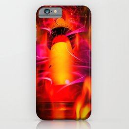 Lighthouse romance iPhone Case
