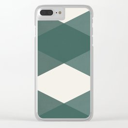 Simple geometrical pattern Clear iPhone Case