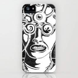 Mr. K - Mugshot iPhone Case