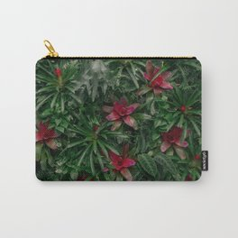 A Wall of Plants Carry-All Pouch