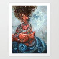 Aquarius Art Print