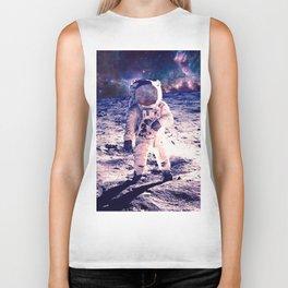 Spacewalk Nebula Biker Tank