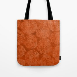 Tribal Terracota Rounds Tote Bag