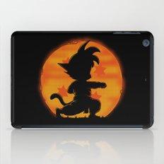 Goku by night iPad Case
