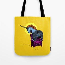Get off the furniture, Unibear Tote Bag