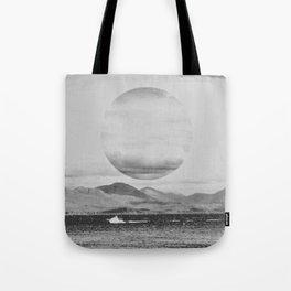 Gray Waterside Tote Bag