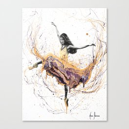 Violetta Ballerina Canvas Print
