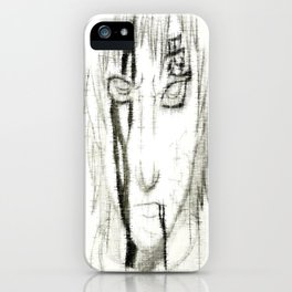 Bloody Sheared Gaara iPhone Case