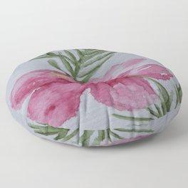 Tropical Hibiscus Floor Pillow