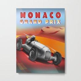 Monaco Grand Prix Metal Print
