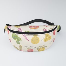 Veggies and Fruits Fanny Pack