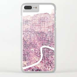 New Orleans Clear iPhone Case