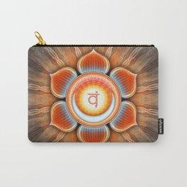 Svadhisthana Chakra - Sacral Chakra - Series IV Carry-All Pouch