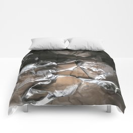 black plastic 04 Comforters