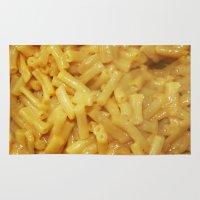 mac Area & Throw Rugs featuring Mac&Cheese by Brieana