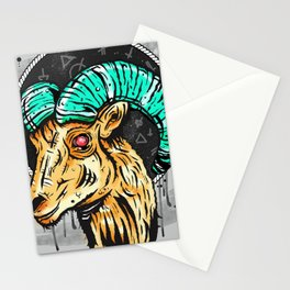Demon Goat Stationery Cards