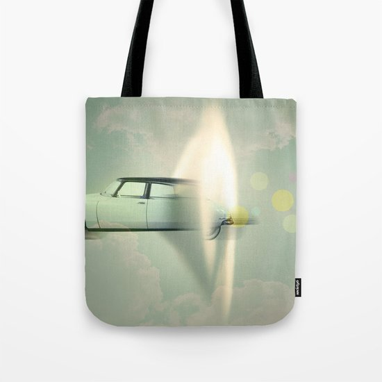 supersonic citroen Tote Bag