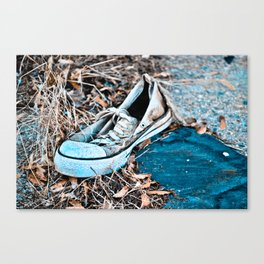 Left Footed Canvas Print
