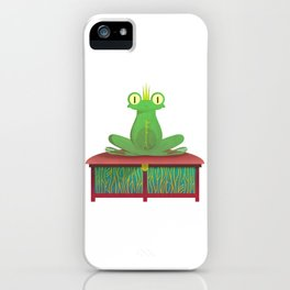 THE FROG iPhone Case