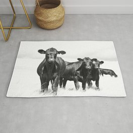 Cattle Country Photograph Rug