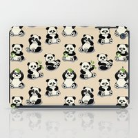 pandas iPad Cases featuring Pandas by Olya Yang