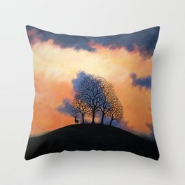 Keeper of the Barrow Throw Pillow
