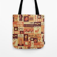 risa rodil Tote Bags featuring Accio Items by Risa Rodil