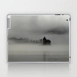 Lighthouse in fog Laptop & iPad Skin