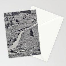 Trail B&W Stationery Cards